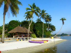Destinations touristiques en Afrique - L'île Boulay
